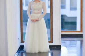 שמלות כלה יד שניה צנועות