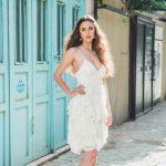 שמלת כלה קצרה אייזןשטיין 39